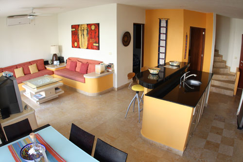 condo italy in playa del carme for rent